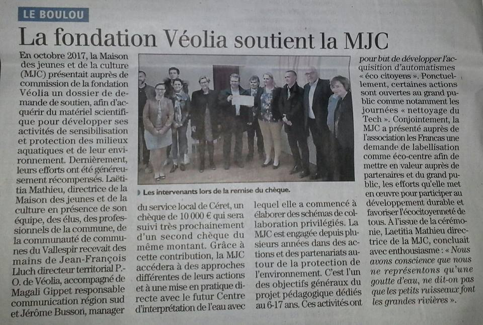 véolia article indep